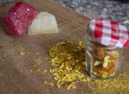 Conservare scorza e succo di arance e limoni