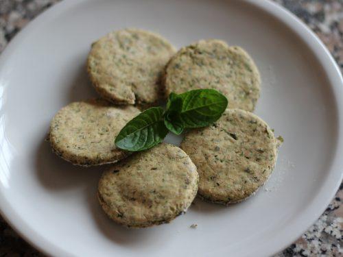 Biscotti alla Menta e Prezzemolo – Contro Alitosi nei Cani