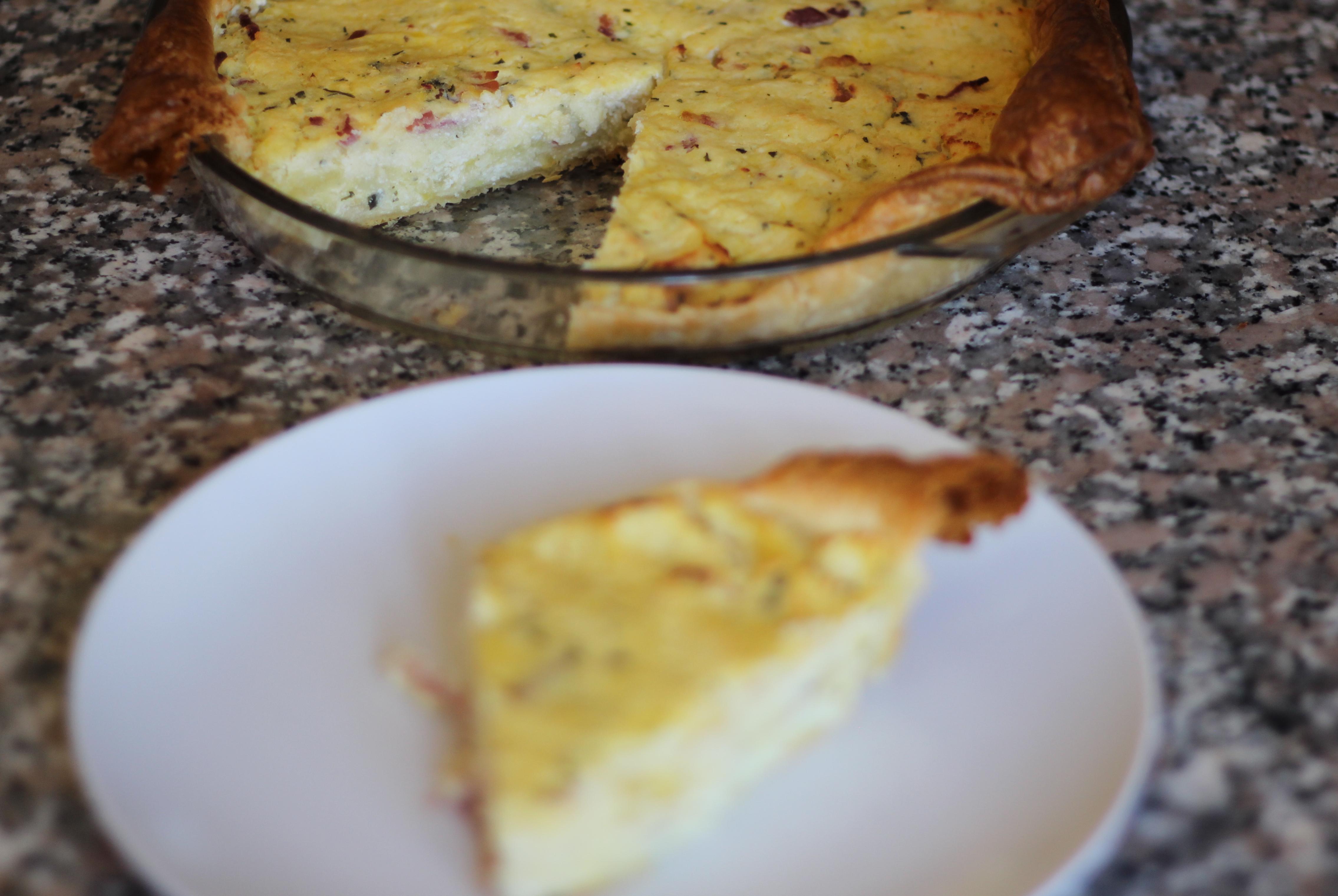 Torta Rustica di Patate e Speck
