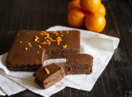 Torta Morbida Arancia e Cioccolato