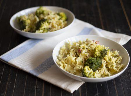 Insalata di Pasta con Broccoli e Pancetta