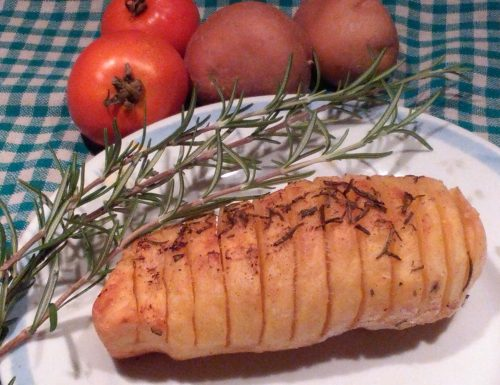Patate dorate a Fisarmonica