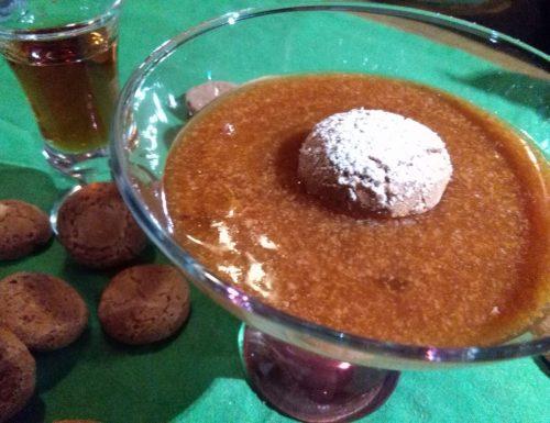 Cachi all'Amaretto, il dessert della Festa