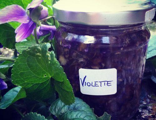 Marmellata di Violette, squisitezza da riscoprire