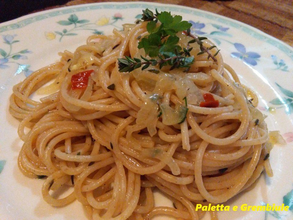 Spaghetti Kamut al timo