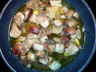Zuppa di Ceci e Porcini