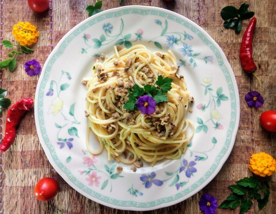 Spaghetti in salsa di Vongole