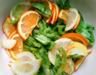 Composta di Pomodori verdi e Arance
