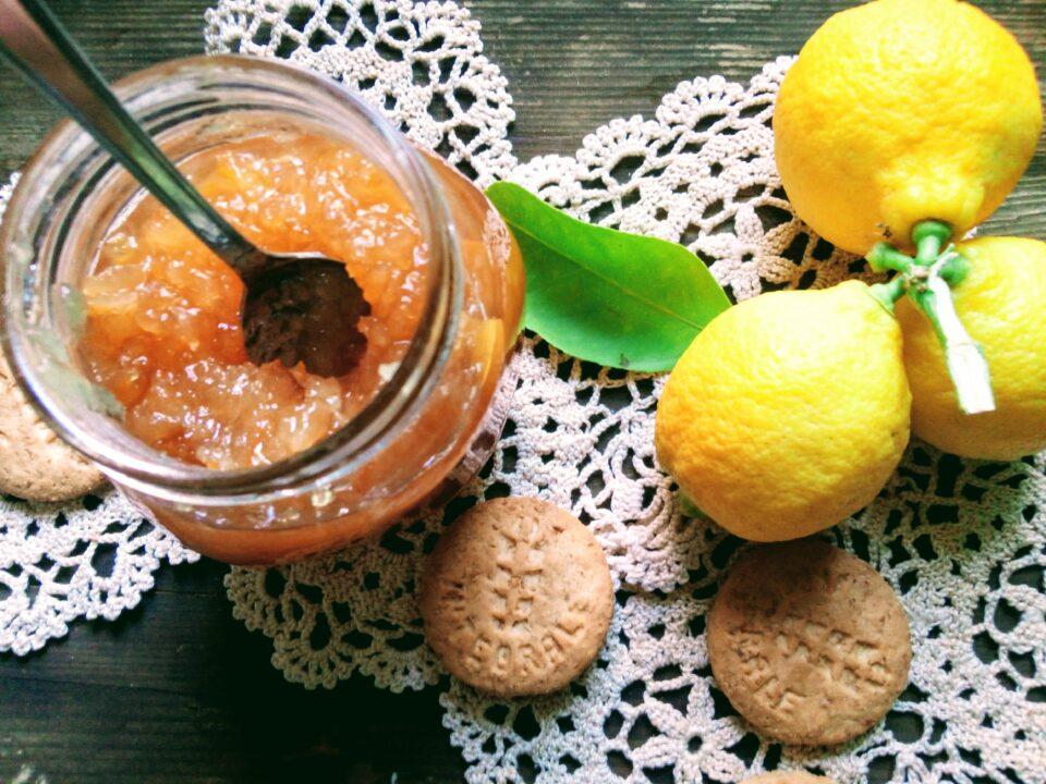 Marmellata integrale di Limoni