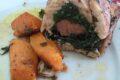 Rotolo di Pollo con Spinaci e Salsicce