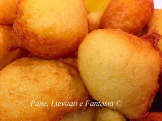 Frittelle siciliane - Sfinci
