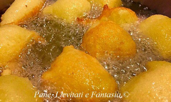 Frittelle siciliane – Sfinci
