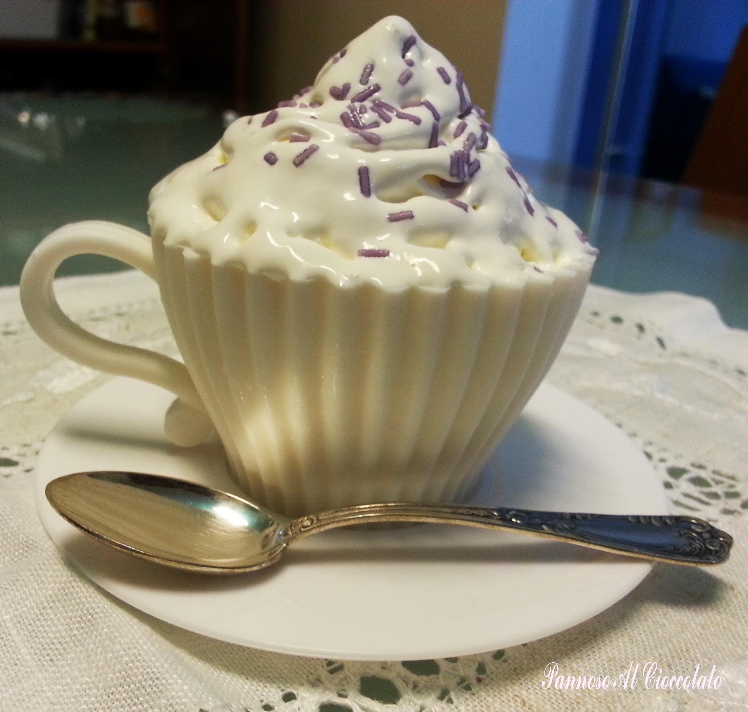 Frosting cioccolato bianco e philadelphia