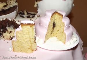 minicake con goccie di cioccolato
