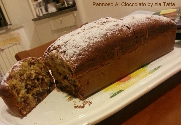 Plumcake pere e gocce di cioccolato – ricetta tradizionale e bimby