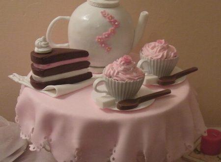 Torta servizio da tè – Dolcemente Martissima