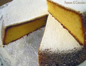 Torta caprese al limone e cioccolato bianco - ricetta con e bimby