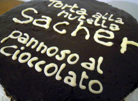 Torta Sacher alla Nutella – ricetta tradizionale e bimby
