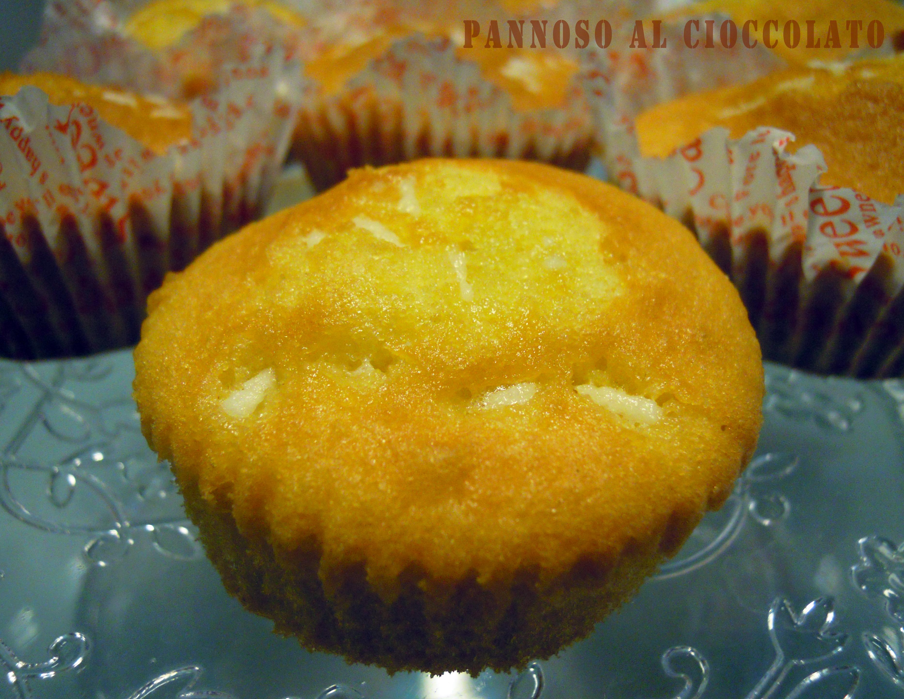 Muffin pandoro - ricetta postNatalizia