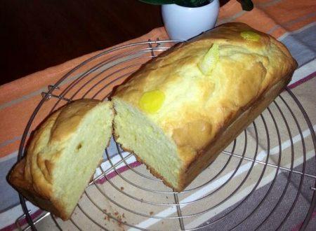 Plum cake al limone e zenzero
