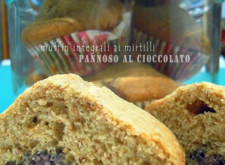 Muffin integrali al mirtilli