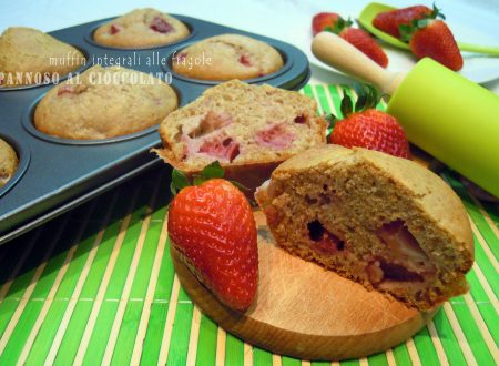 Muffin integrali alle fragole