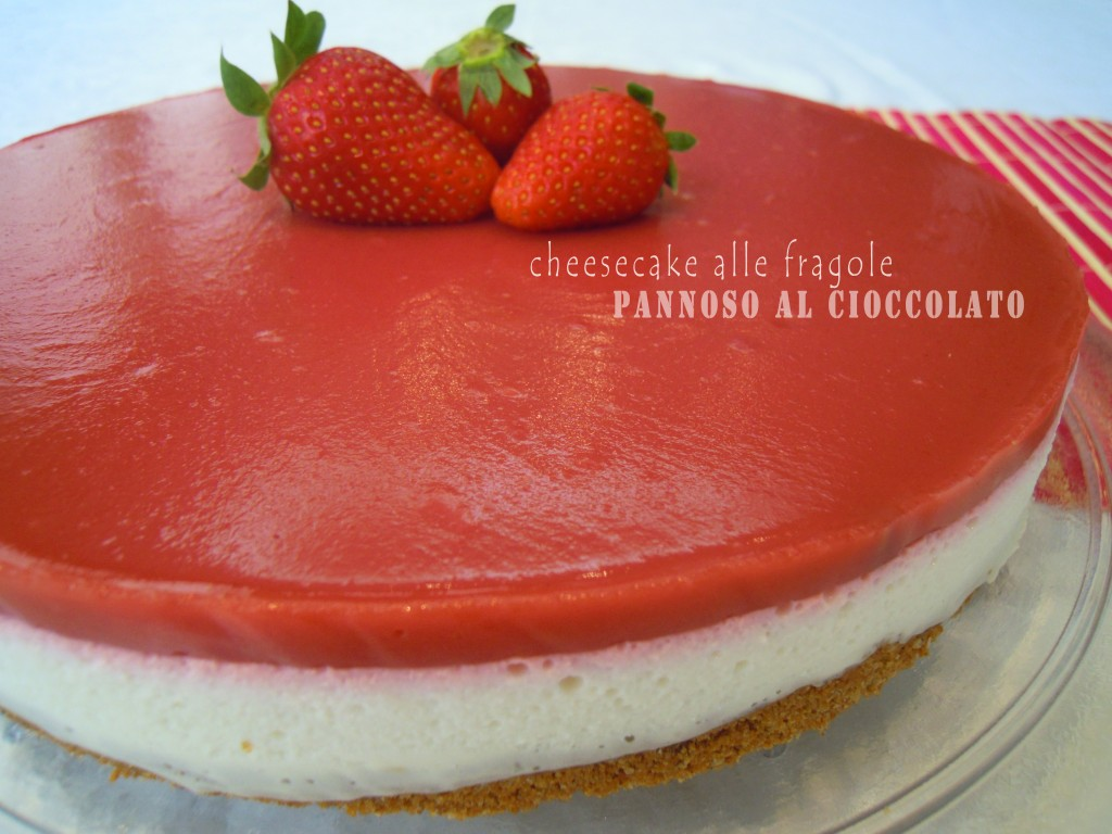 topping alle fragole