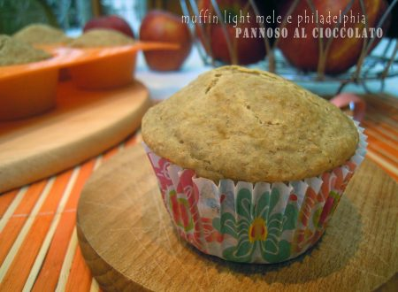 Muffin light mele e philadelphia