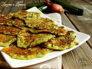 frittatine di zucchine -