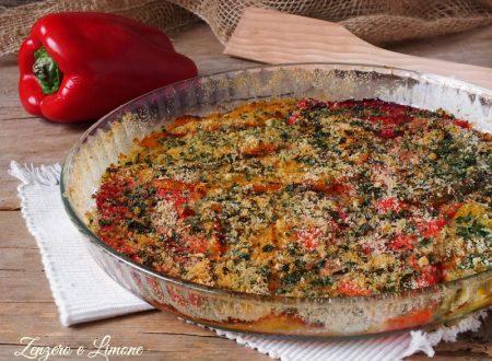 Peperoni al forno, ricetta contorno