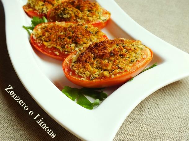 pomodori ripieni al forno | Zenzero e Limone