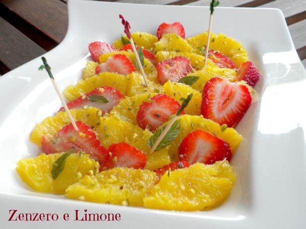 Fragole e ananas