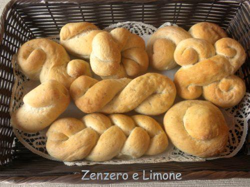 Alcune forme del pane