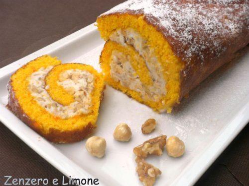 Pumpkin roll, rotolo alla zucca