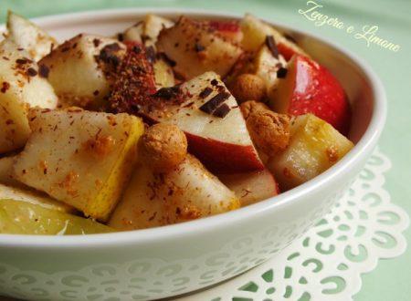 Frutta all'amaretto, ricetta semplice