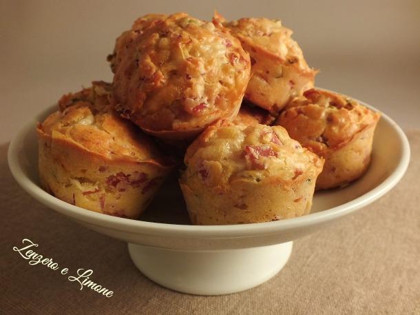 muffin al prosciutto formaggio