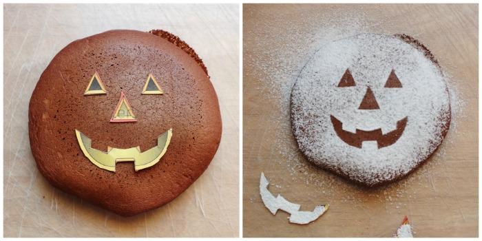 pancakes di Halloween Collage