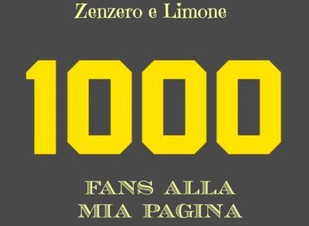 ZENZERO E LIMONE, ricette con foto passo passo: 1000 FANS CONQUISTATI!!!
