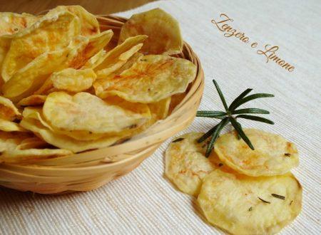 Patatine chips fatte in casa, ricetta senza olio