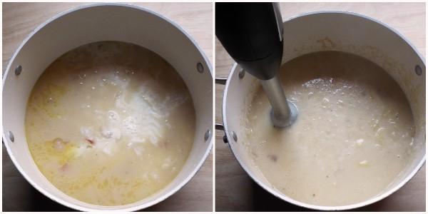 vellutata di patate e cipolle - procedimento 3