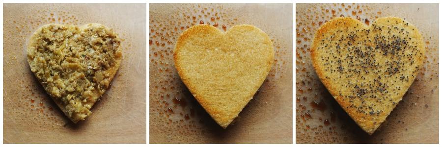 crostini carcciofi san valentino Collage