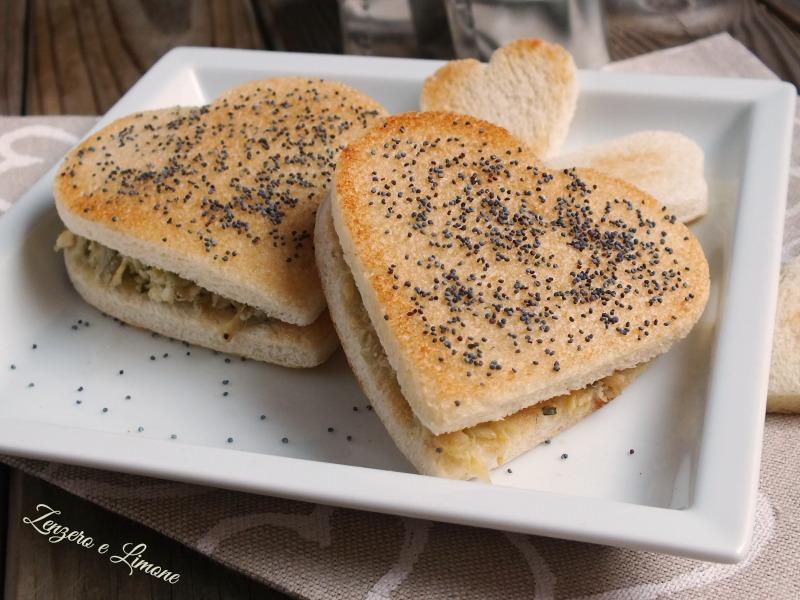 crostini con carciofi - S. Valentino