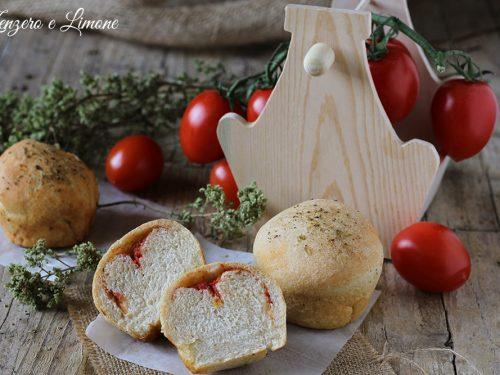 Muffins di focaccia, ricetta golosa
