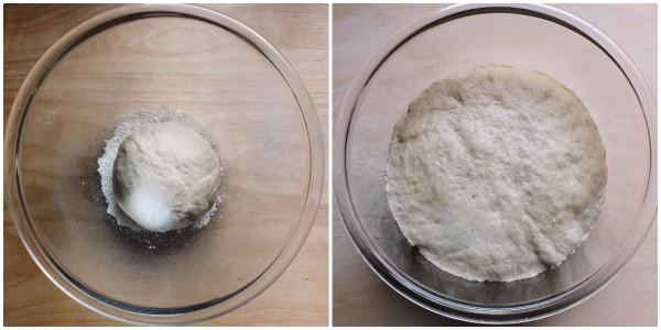 muffins di focaccia - procedimento 2