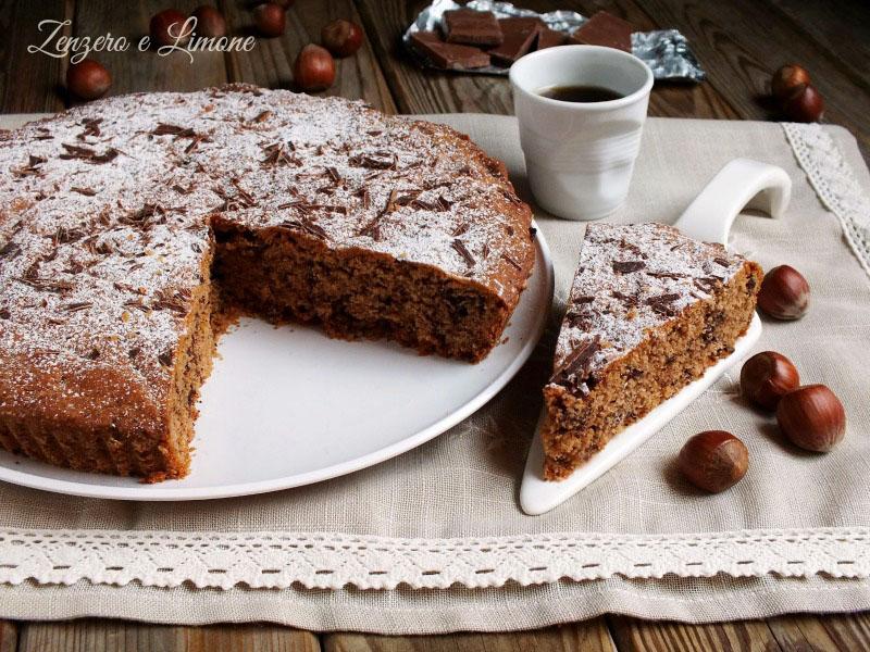 Dolci Da Credenza Biscotti Alle Nocciole : Torta alle nocciole e cioccolato zenzero limone