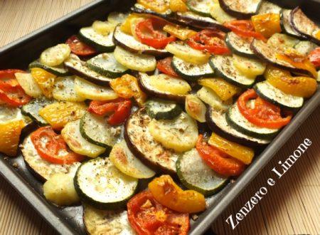 Gran misto di verdure al forno