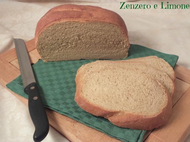 Pane con farina di farro e Kamut