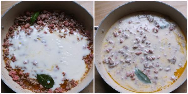 pasta al forno con salsiccia - 2