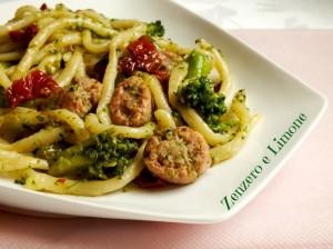 strozzapreti con broccoli -