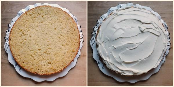 torta allo yogurt farcita - procedimento 3